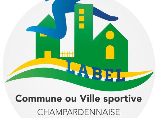Le logo «ville ou commune sportive champardennaise»